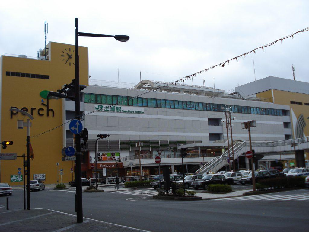 tsuchiura_station_west_entrance_building