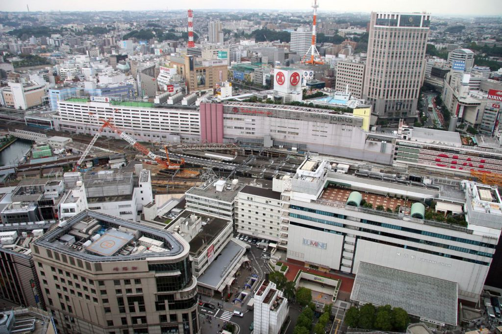 Yokohama_Station_from_above